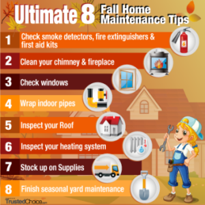 Ultimate 8 Fall Home Maint Tips